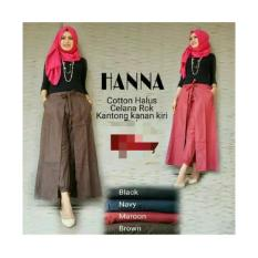 Celana Rok Hana / Busana Muslim / Baju Muslim / Celana Muslim / Fashion Wanita