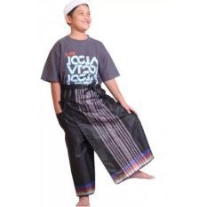 Harga Celana Sarung Anak Pasha Cesar Kids L Black White Celana Online