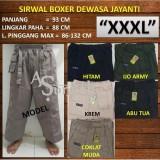 Toko Jual Celana Sirwal Boxer Dewasa Size Extra Jumbo Xxxl 3B57E5