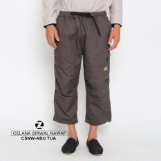 Celana Sirwal Nawaf Abu Tua Zayidan-Zipper Samping Sunnah Syari