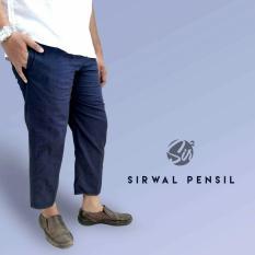 Beli Celana Sirwal Pensil Biru Dongker Kredit