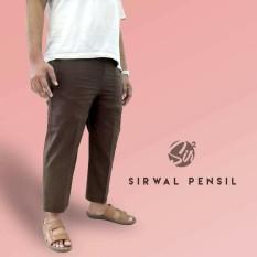Celana Sirwal Pensil Chocolate