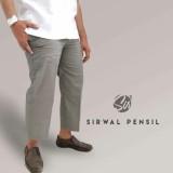Spek Celana Sirwal Pensil Grey Sirwal