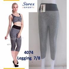Celana Sport 4074 Pants 7 8 Legging Senam Sorex Hitam Indonesia Diskon