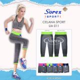 Beli Celana Sport Ua 010 Pants 3 4 Legging Senam Yoga Gym Sorex Ua010 Hitam Kredit