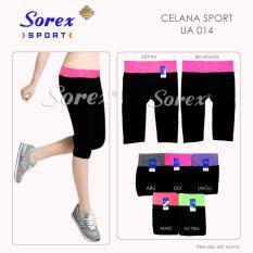 Spesifikasi Celana Sport Ua 014 Pants 3 4 Legging Senam Yoga Gym Sorex Ua014 Abu Merk Metro