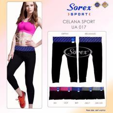 Celana Sport UA016 pants 3/4 Legging UA016 Sorex - HIJAU