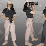 Celana Tactical Blackhawk Panjang Wanita Cewek Cream Di Jawa Barat