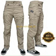 Celana Tactical Reguler Crem Pria Best Seller Bms Clothing Diskon 30