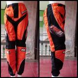 Promo Celana Trail Cross Adventure Downhill Motocross Panjang Onealmx Orange Murah