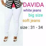 Spesifikasi Celana Wanita Jeans Putih Jumbo Dan Harganya