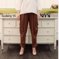 Harga Celana55 Celana Cubyt Celana Wanita Coklat Paling Murah