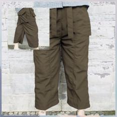 CelanaKU - Celana Cingkrang - Sirwal - Tidak Isbal - Boxer - Ukuran L - Coklat