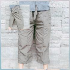 Jual Celanaku Celana Cingkrang Sirwal Tidak Isbal Boxer Ukuran M Abu Abu Grosir