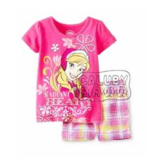 cf 1111 pakaian  anak perempuan / baju setelan kaos princess barbie