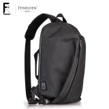 Beli Stylish Guy S Korean Style Large Capacity Shoulder Computer Bag Men S Shoulder Bag Badai Hitam Murah Tiongkok