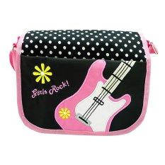 Harga Char Coll Tas Selempang Anak Perempuan Kids Messenger Bag Gitar Pink Terbaik