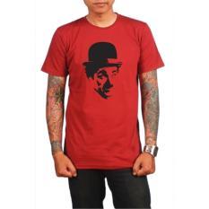 Harga Charlie Chaplin T Shirt Merah Terbaru