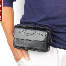 Review Cheersoul Dompet Hp Sarung Hp Dompet Kulit Hitam Cheersoul