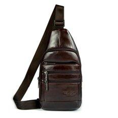 Harga Cheersoul Westbag Kulit Bodybag Pria Slingbag Kulit Tas Selempang Coklat Tua Yg Bagus