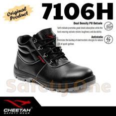 Cheetah 7106H - Sepatu Safety Shoes Ringan Anti Statis Ergonomis - Wnz2b9