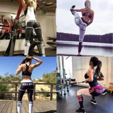 Hadiah Yang Disayangi 5 Warna Baru JUAL Hot Fitness Legging Menjalankan Gym Stretch New Fantastic Wanita Olahraga Celana Perapi Hight Pinggang Yoga-Hitam-int: S-Intl