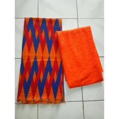 Cherry Kebaya Bali Murah set kain satin songket wayang tosca dan atasan brokat sofia tosca KC3064IDR100000. Rp 100.000