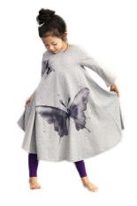 Tips Beli Pakaian Anak Perempuan Gaun Pantai Kapas These Butterflies Cetak Gaun Panjang Kelabu Yang Bagus