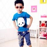 Jual Anak Katun Boys Summer Lengan Pendek Panda Pola T Shirt Bu 100 Internasional Termurah