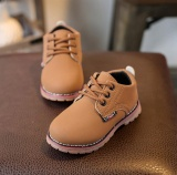 Jual Anak Anak Fashion Boys Girls Martin Sneaker Boots Lace Up Kids Baby Sepatu Kasual Pria Intl