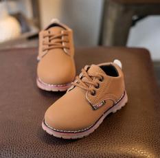 Review Anak Anak Fashion Boys Girls Martin Sneaker Boots Lace Up Kids Baby Sepatu Kasual Pria Intl Terbaru