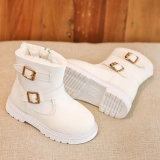 Beli Anak Anak Fashion Girls Martin Sneaker Musim Dingin Salju Tebal Bayi Sepatu Kasual Pria Intl Tiongkok