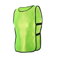 Anak-Anak Rompi Jaket Untuk Luar Ruangan Olahraga Sepak Bola Latihan (neon Hijau)-Internasional By Epayst.