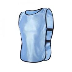 Anak-Anak Rompi Jaket Untuk Luar Ruangan Olahraga Sepak Bola Latihan (biru Muda)-Internasional By Epayst.