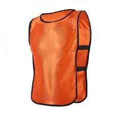 Anak-Anak Rompi Jaket Untuk Luar Ruangan Olahraga Sepak Bola Latihan (oranye)-Internasional By Epayst.