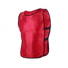 Anak-Anak Rompi Jaket Untuk Luar Ruangan Olahraga Sepak Bola Latihan (merah)-Internasional By Epayst.