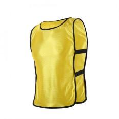 Anak-Anak Rompi Jaket Untuk Luar Ruangan Olahraga Sepak Bola Latihan (kuning)-Internasional By Epayst.