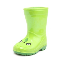 Hujan Anak-anak Bot Anak-anak Hujan Sepatu Menggemaskan Bayi Perempuan dan Anak Laki-laki Bot Modis Lucu Anti-Air Anti Selip Sepatu hijau-Internasional
