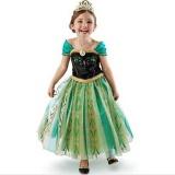 Daftar Harga Pakaian Anak Anak Warna Hot Style Ice Princess Dress Anna Gaun Gaun Wanita Oem