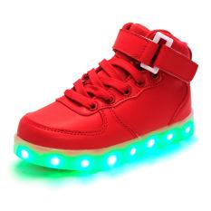 Beli Sepatu Anak Mode Led Light G*rl Tinggi Top Sepatu Anak Laki Laki Sepatu Anak S Sepatu Fashion Led Light G*rl Atas Sepatu Anak Laki Laki Sepatu Merah Intl Pakai Kartu Kredit