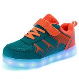 Toko Sepatu Anak Led Cahaya Loafers G*rl The Boy Sepatu Anak Anak Sepatu Dipimpin Lampu Loafers G*rl S Boys Sepatu Orange Terlengkap Di Tiongkok