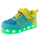 Beli Sepatu Anak Led Cahaya Loafers G*rl The Boy Sepatu Anak Anak Sepatu Dipimpin Lampu Loafers G*rl S Boys Sepatu Kuning Murah Tiongkok