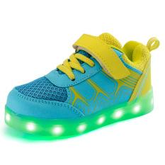 Dapatkan Segera Sepatu Anak Led Cahaya Loafers G*rl The Boy Sepatu Anak Anak Sepatu Dipimpin Lampu Loafers G*rl S Boys Sepatu Kuning