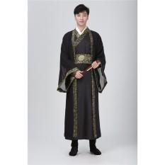 Cina Han Tang Pakaian Kaisar Prince Menunjukkan Cosplay Setelan Robe Kostum-Internasional