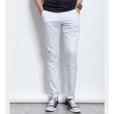 Jual Chinos Pria Slimfit Celana Pria Terlaris Skiny Premium Jk 27 32 Slimfit Di Dki Jakarta