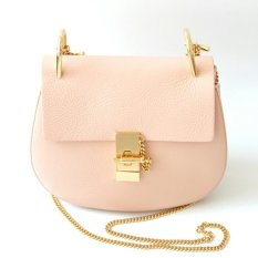 Chloe Drew Small Shoulder Bag (Cement Pink)