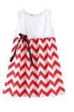 Chloe S Clozette Dress Anak Da 03 Putih Merah Diskon Akhir Tahun