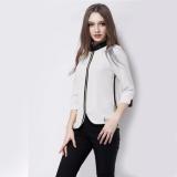 Beli Christine Korean Blouse Blus Model Korea Pakaian Kantor Wanita Cicilan