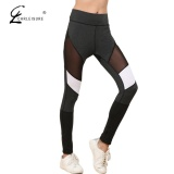Cara Beli Chrleisure S Xl S*xy High Waist Legging Jaring Wanita Fashion Workout Push Up Polyester Legging Bernapas Bodybuilding Jeggings Intl