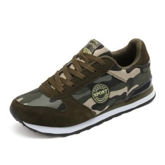 Chuangyu Wanita Sneaker Olahraga Unisex Kamuflase Sepatu Jalan  (Kanvas Mesh)-Intl 4e1465d1fb